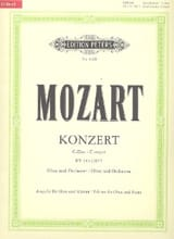 MOZART - Konzert D-Dur for Oboe KV 314 - Oboe Klavier - Sheet Music - di-arezzo.co.uk