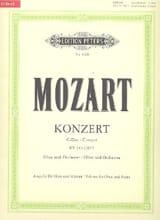 MOZART - Konzert D-Dur für Oboe KV 314 -Oboe Klavier - Partition - di-arezzo.fr