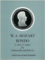 Rondo C-Dur -VIoloncello Klavier MOZART Partition laflutedepan.com