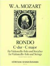MOZART - Rondo C-Dur KV 373 -Violoncello solo u. Streicher - Partition - di-arezzo.fr