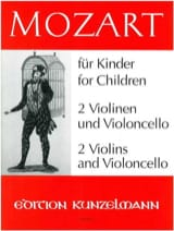 MOZART - Mozart for Kinder A. Opern - Sheet Music - di-arezzo.com