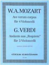 Ave Verum Corpus KV 618 / Andante Requiem laflutedepan.com