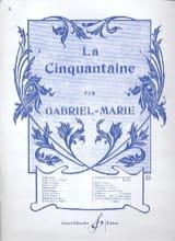 La Cinquantaine - Violon Gabriel-Marie Partition Violon - laflutedepan