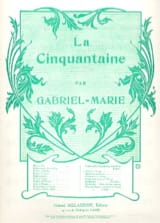 Jean Gabriel-Marie - The Fifty - Flute and piano - Sheet Music - di-arezzo.co.uk