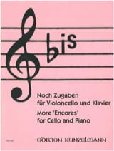 Bis : Noch Zugaben - Cello Werner Thomas-Mifune laflutedepan.com