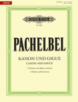 Johann Pachelbel - Kanon und Gigue - Three violins and basso continuo - Sheet Music - di-arezzo.co.uk