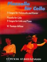 Astor Piazzolla - Piazzolla für Cello - Sheet Music - di-arezzo.com