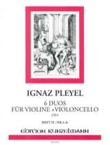 6 Duos für Violine und Violoncello op. 4 - Bd. 2 laflutedepan.com