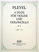 6 Duos für Violine und Violoncello op. 4 - Bd. 1 laflutedepan.com