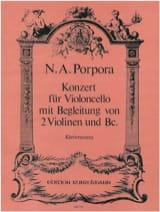 Nicola Antonio Porpora - Konzert A-Moll Für Violoncello - Partition - di-arezzo.fr