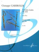 Grandes études de style op. 134 Giuseppe Gariboldi laflutedepan.com