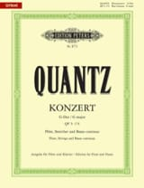 Johann Joachim Quantz - Konzert G-Dur QV 5: 174 - Klavier Float - Sheet Music - di-arezzo.co.uk