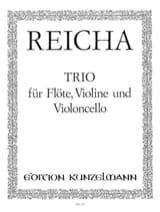 Anton Reicha - Trio –Flöte Violine Violonc. - Stimmen - Partition - di-arezzo.fr