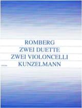 2 Duette op. 33 Bernhard Romberg Partition laflutedepan.com