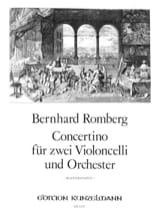 Concertino op. 72 Bernhard Heinrich Romberg laflutedepan.com