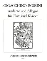 Andante und Allegro - Flöte Klavier laflutedepan.com