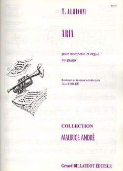 Tomaso Albinoni - Aria - Partition - di-arezzo.fr