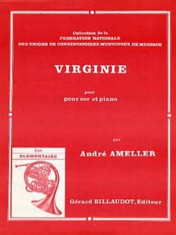 Virginie André Ameller Partition Cor - laflutedepan