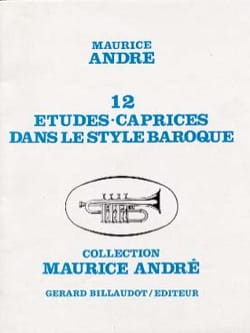 Maurice André - 12 Studies Caprices in the Baroque Style - Sheet Music - di-arezzo.co.uk