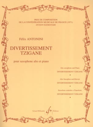 Felix Antonini - Divertissement Tzigane - Partition - di-arezzo.fr