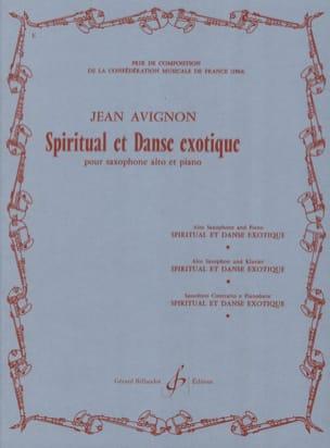 Jean Avignon - Spiritual Et Danse Exotique - Partition - di-arezzo.fr