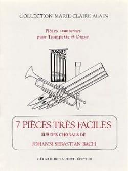 BACH - 7 Pièces Très Faciles Sur Des Chorals de J-S Bach - Partition - di-arezzo.fr