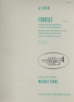 BACH - Chorals Volume 3 - Partition - di-arezzo.fr