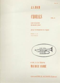 BACH - Volume 4 Chorales - Sheet Music - di-arezzo.co.uk