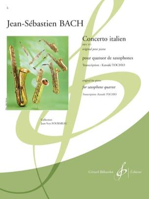 Johann Sebastian Bach - Concerto Italien BWV 971 - Partition - di-arezzo.fr