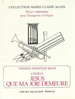 Johann Sebastian Bach - Jésus Que Ma Joie Demeure - Partition - di-arezzo.fr
