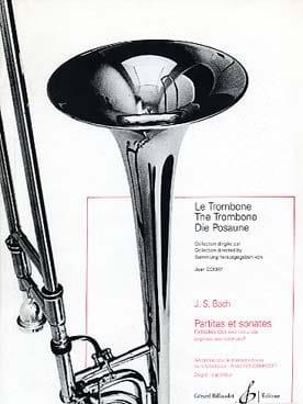 Partitas et Sonates - Extraites des BWV 1001 à 1006 BACH laflutedepan
