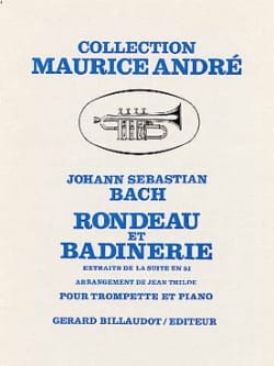 BACH - Rondeau And Badinerie - Sheet Music - di-arezzo.com