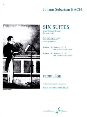 Six Suites Cello Volume 2 BACH Partition Cor - laflutedepan