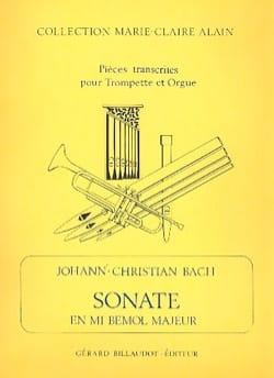 Sonate Mib Majeur - Johann-Christian Bach - laflutedepan.com