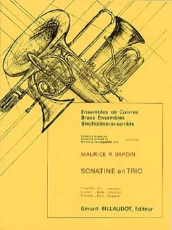 Maurice Bardin - Sonatine In Threesome - Sheet Music - di-arezzo.com