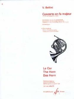 Vincenzo Bellini - Concerto En Fa Majeur - Partition - di-arezzo.fr