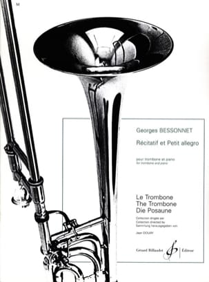 Georges Bessonnet - Recitatif et petit allegro - Partition - di-arezzo.fr