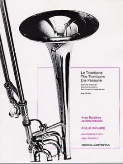 Bordères Y. / Naulais J. - Aria And Minuetto - Sheet Music - di-arezzo.com