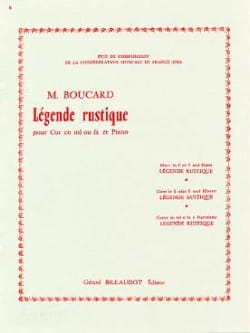 Boucard - Rustic Legend - Sheet Music - di-arezzo.co.uk