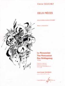 Gabriel Bouchet - Two pieces - Partition - di-arezzo.co.uk