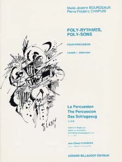 Bourdeaux / Chapuis - Poly-Rhythms, Poly-Sounds Notebook 1 - Beginner - Sheet Music - di-arezzo.co.uk