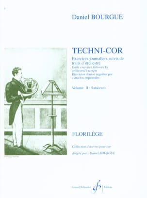 Daniel Bourgue - Techni-Cor Volume 2 - Staccato - Partition - di-arezzo.fr