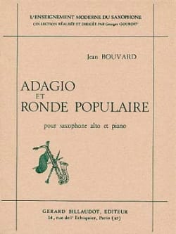 Adagio Et Ronde Populaire Jean Bouvard Partition laflutedepan