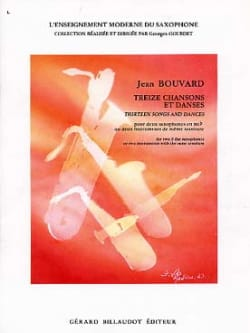 Jean Bouvard - Thirteen Songs And Dances - Sheet Music - di-arezzo.com