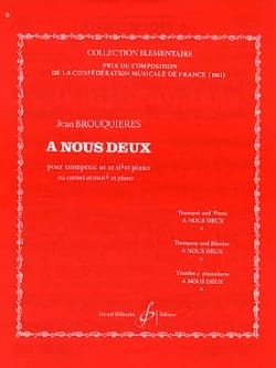 Jean Brouquières - At Us Two - Sheet Music - di-arezzo.co.uk