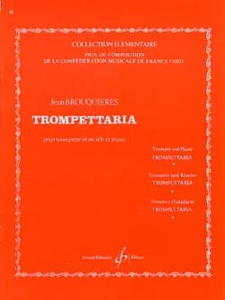 Jean Brouquières - Trompettaria - Sheet Music - di-arezzo.co.uk