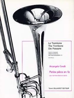 Petite Pièce En Fa CORELLI Partition Trombone - laflutedepan