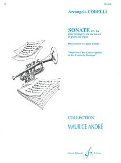 CORELLI - Sonata In F - Sheet Music - di-arezzo.co.uk