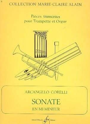 Arcangelo Corelli - Sonate En Mi Mineur - Partition - di-arezzo.fr