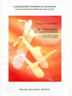 Francis Cournet - The Saxophonist Thesaurus Volumen 1 - Partitura - di-arezzo.es